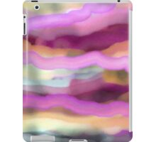 Pink Lines and Waves iPad Case/Skin