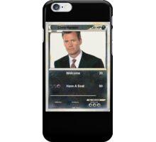 Chris hansen iPhone Case/Skin