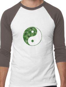 Ying and Yang dope Men's Baseball ¾ T-Shirt