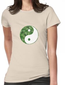 Ying and Yang dope Womens Fitted T-Shirt