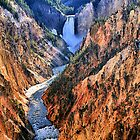 Grand Canyon of Yellowstone, Artist Point by Mark Bolen