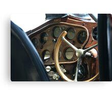 Gullwing cockpit Canvas Print