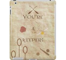 Harry Potter inspired Valentine. iPad Case/Skin