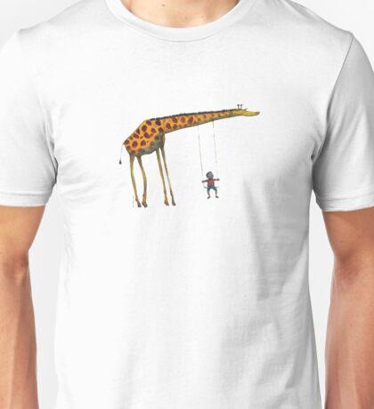 Giraffe Swing Unisex T-Shirt