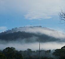 Mt Ainslie Cloud by Cyn Piromalli