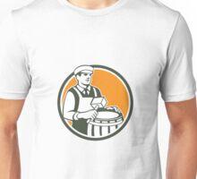 Cooper Barrel Maker Drum Retro Circle Unisex T-Shirt