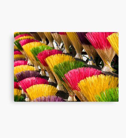 Incense (Hue, Viet Nam) Canvas Print