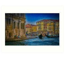 Lazy Afternoon In Venice  Art Print
