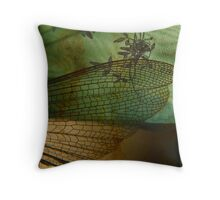 Rusted Wing Throw Pillow