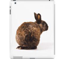 Rabbit looking over its shoulder iPad Case/Skin