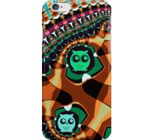 Patterns and Owls iPhone Case/Skin