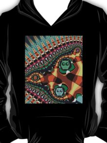 Patterns and Owls T-Shirt