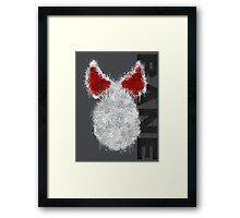Bane (Paint Splatter) Framed Print