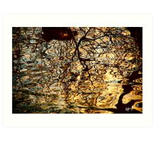 Riverside Reflections II Art Print