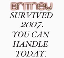 Britney Survived, Blackout. T-Shirt