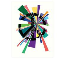 Peace Explosion Art Print