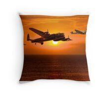 The Battle of Britain Memorial Flight (RAFBBMF) Throw Pillow
