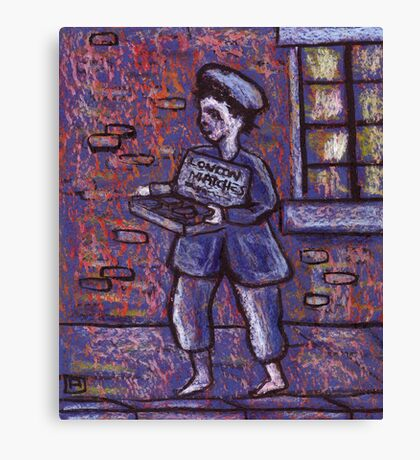 The matchseller Canvas Print