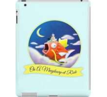 On a Magikarpet Ride iPad Case/Skin