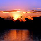 Sunshine Coast Sunset...28th June 2008 by Magee