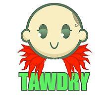 Chibi Tawdry Girl Photographic Print