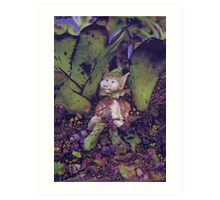 Pixie garden. Art Print