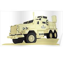 Joint EOD Response Vehicle (JERV) Poster