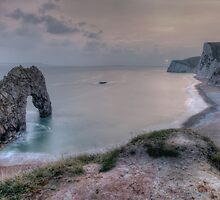 Durdle door Sunset by James Hann