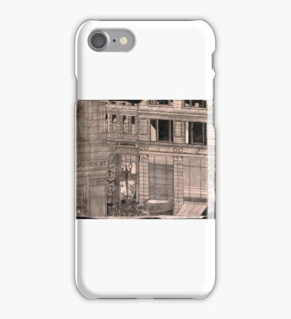 State and Madison Streets, Chicago iPhone Case/Skin