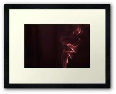 Smoke study (red) by MariaVikerkaar