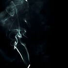 Smoke study (blue) by MariaVikerkaar