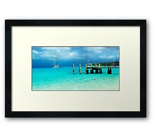 Cocos dreaming Framed Print