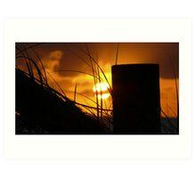 The Rising Sun Art Print