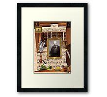 Wilbur Framed Print