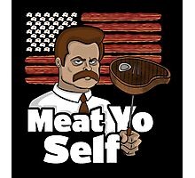 Meat Yo Self Photographic Print