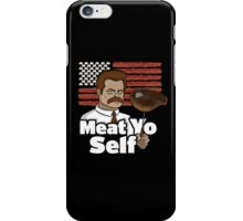 Meat Yo Self iPhone Case/Skin