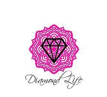 Diamond Life: Clarity ∞ Balance (Phone case) by NewDirection