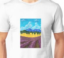 Lavender In Provence Unisex T-Shirt