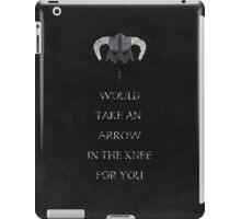 Skyrim inspired valentine. iPad Case/Skin