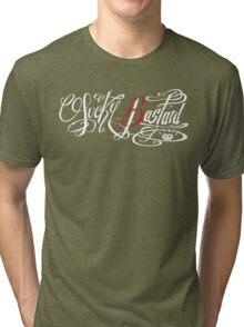Lucky 13 Bastard (Dark BG) Tri-blend T-Shirt