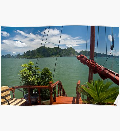 Relaxation (Ha Long Bay, Viet Nam) Poster