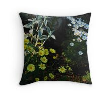 we all need daises Throw Pillow