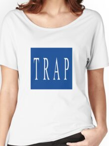 TRAP - Blue Women's Relaxed Fit T-Shirt