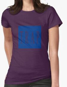 TRAP - Blue Womens Fitted T-Shirt