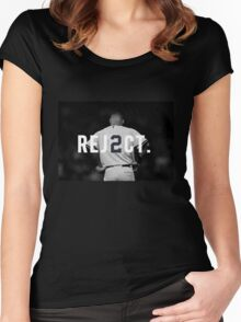 REJ2CT Women's Fitted Scoop T-Shirt