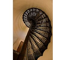Spiral Stairs Of Door County Lighthouse Photographic Print