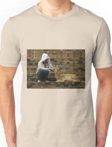 Giving A Good Massage Unisex T-Shirt