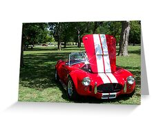 1965 Shelby Cobra Greeting Card
