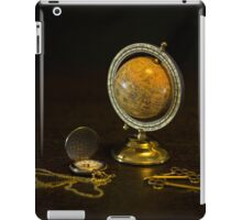 Time To Travel iPad Case/Skin