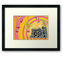 Sound Cloud (shine) Framed Print